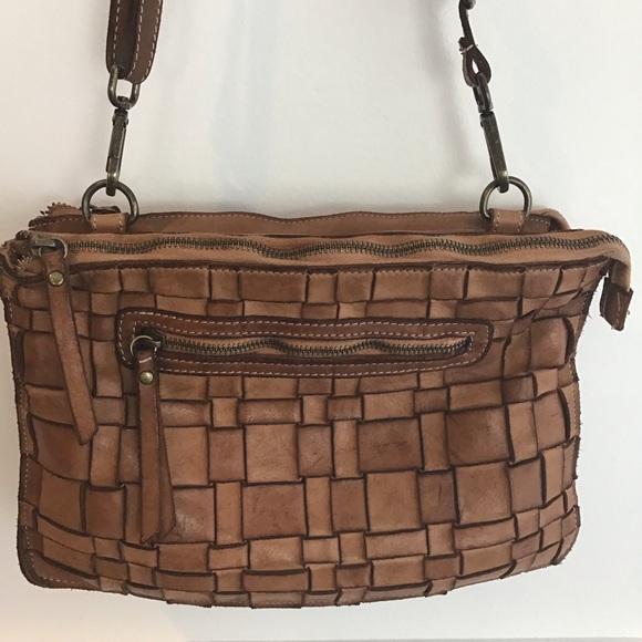 61323f29f21378 Costanza Rota Bags | Woven Crossbody Bag | Poshmark